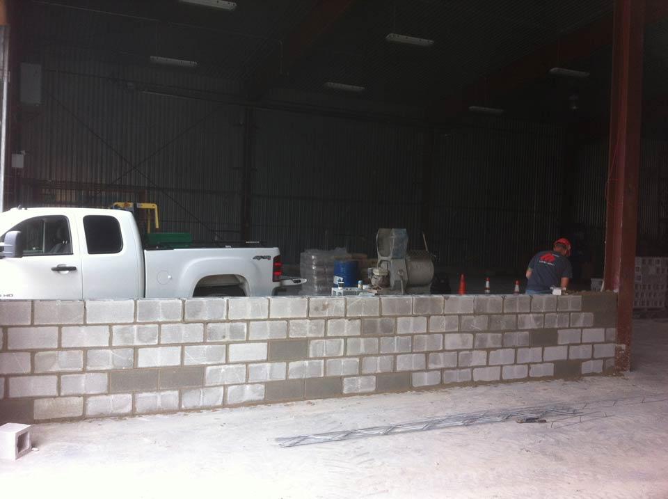 Centre de m canique quipement lourd anjou montr al for Construction mur interieur
